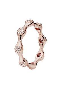 Anel Love Rosê- Rosê Gold- Tamanho 48 = 4 Ao 8- Pandora