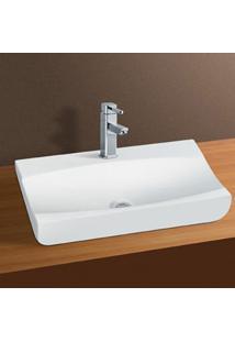 Cuba De Apoio Banheiro Lavabo Sobrepor De Porcelana Cerâmica Louça C275 - Premierdecor