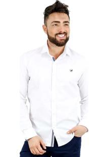 Camisa Norfolk Lisa Com Bordado - Masculino