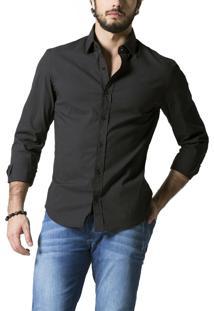 Camisa R.Mendes New Game Preta