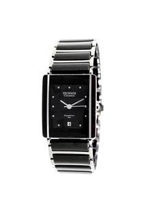 Relógio Technos Feminino Ceramic Preto Analógico 1N12Acpai1P