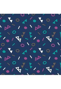 Papel De Parede Geomã©Trico Colorido Em Rolo M7 - Unico - Dafiti