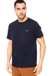 Camiseta Triton Bordado Azul-Marinho