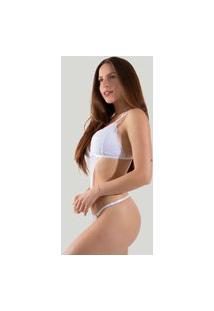 Body Sexy Conjunto De Renda Diluxo Branco