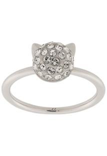 Karl Lagerfeld Choupette Ring - Prateado