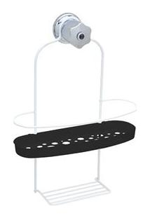 Porta Shampoo De Encaixe Metaltru Jumbo Linha Bolha