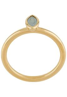 Astley Clarke Paloma Petal Ring - Dourado