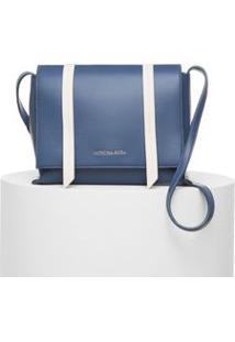 Bolsa Media Color Azul/Branco - Tu