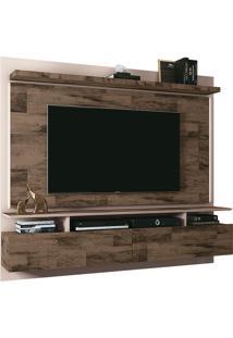 """Painel Para Tv De Até 55"""" Com 2 Portas Limit 1.8-Hb Móveis - Deck / Off White"""