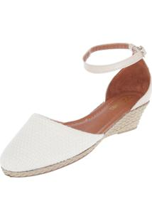 Scarpin Dafiti Shoes Anabela Off-White