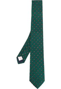 Tagliatore Gravata Com Estampa Paisley - Verde