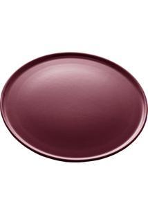 Prato Sobremesa Cerâmica Vadim Vinho 21Cm