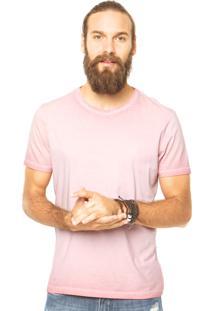 Camiseta Calvin Klein Jeans Estonada Rosa
