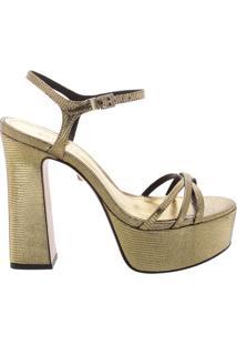 Sandália Meia Pata Glam Gold | Schutz