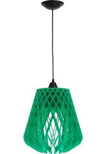 Luminária De Teto Dali Lâmpada Led 40 Watts - (Verde)