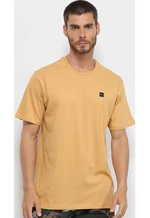 Camiseta Oakley Patch 2.0 Masculina - Masculino-Amarelo