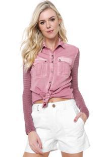 Camisa Lança Perfume Estona Rosa