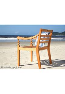 Cadeira Varanda 100% Em Madeira Jatobá - Mão & Formão