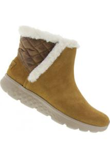 d7144b5f705 ... Bota Skechers On The Go 400 Cozies - Feminina - Marrom Claro