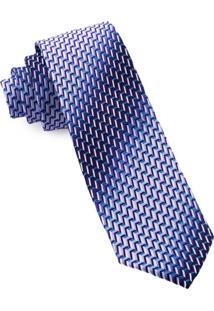 Gravata Pierre Cardin Slim Azul