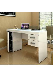 Escrivaninha/Mesa Para Computador Miranda Branco - Politorno