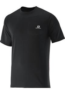 Camiseta Comet Ss Masculina Preta Egg - Salomon