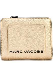 Marc Jacobs Carteira The Snapshot Mini - Dourado