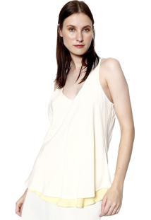 Regata Energia Fashion Dupla Face Ii Branco