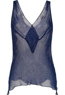 Tufi Duek Blusa Estampada - Azul
