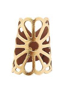 Bracelete Crisfael Acessórios Crisfael Acessórios Margarida Metal Ouro