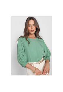 Blusa Colcci Lisa Verde