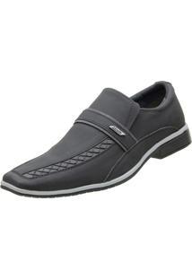 Sapato Venetto Social - Masculino-Preto