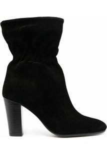 Ba&Sh Ankle Boot Chica - Preto