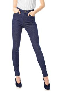 Calça Jeans Dudalina Skinny Lisa Azul