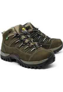 Bota Linha Adventure Em Couro Camurça Bell Boots Masculina - Masculino