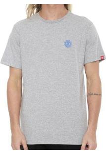 Camiseta Element Soft Crew Masculina - Masculino-Marrom