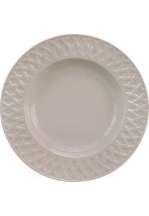 Prato Sobremesa Louisiane Taupe 220 Mm 6 Peças Porcelaine De Limoges Philippe Deshoulieres