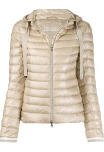 Herno Quilted Down Jacket - Neutro