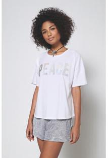 Blusa Aplique Wishes Oh, Boy! - Feminino