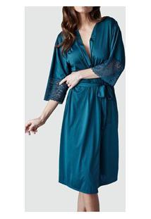 Robe Demillus Nupcial (31005) Verde Esmeralda