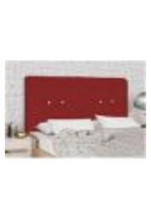 Cabeceira Rubia 160 Vermelho