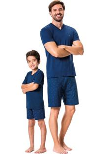 Pijama Estampado Adulto Malwee Liberta
