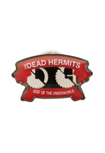 Undercover Botton 'The Dead Hermits' - Vermelho