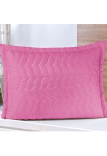 Porta Travesseiro Dourados Enxovais Avulso Pink