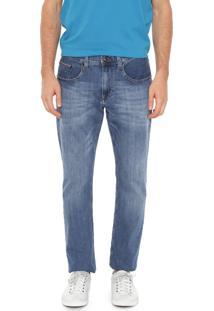 Calça Jeans Tommy Hilfiger Reta Mercer Belgrad Azul