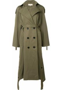 Ruban Trench Coat - Verde