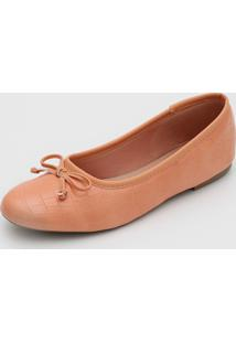 Sapatilha Dafiti Shoes Laço Coral
