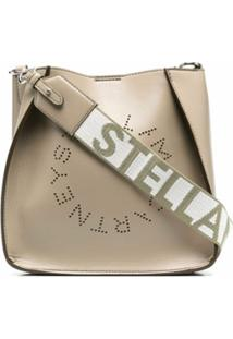 Stella Mccartney Stella Logo Shoulder Bag - Neutro