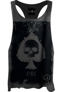 Regata Cavada Black Skull Spade