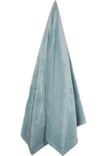 Cobertor Velour Neo Em Microfibra Queen Size- Verde ÁGuacamesa